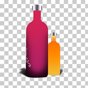 Wine Liqueur Glass Bottle Liquid PNG
