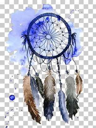 Dreamcatcher Watercolor Painting Drawing PNG