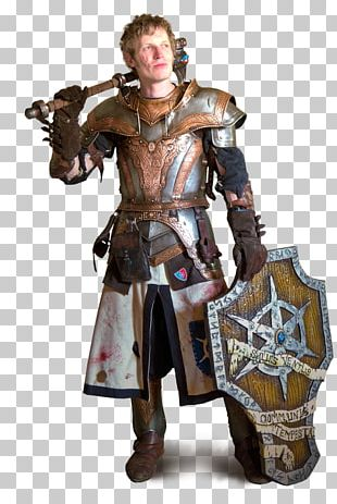 Middle Ages Knight Cuirass Costume Design PNG