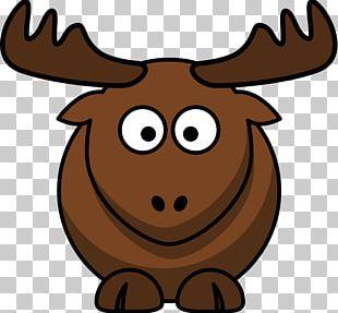 Elk Moose Cartoon PNG