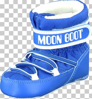 Moon Boot Shoe Blue Child PNG