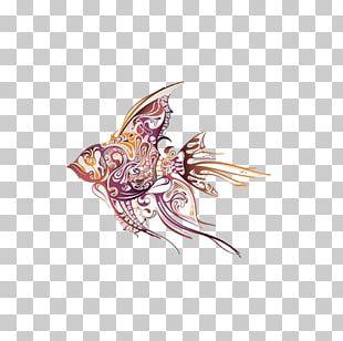 Angelfish Tattoo Artist Drawing Tropical Fish PNG
