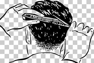 Comb Hair-cutting Shears Scissors Cosmetologist Barber PNG