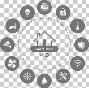 Home Automation Kits Logo Icon Design PNG