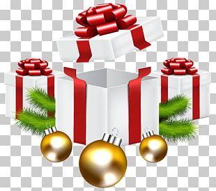 Christmas Gift Santa Claus PNG