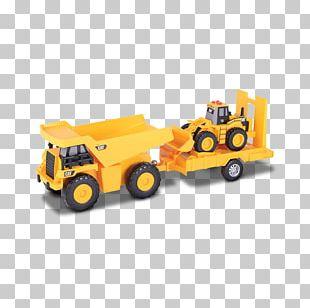 Caterpillar Inc. Car Dump Truck Loader Semi-trailer Truck PNG