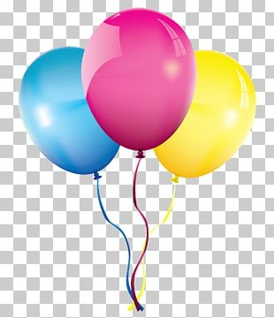 Birthday Balloon Party PNG