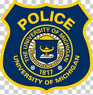 Badge U-M Division Of Public Safety And Security Emblem Police Michigan Wolverines Football PNG