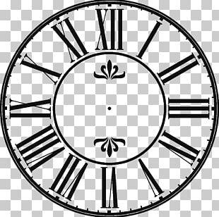 Clock Face Wall Decal Pendulum Clock Station Clock PNG