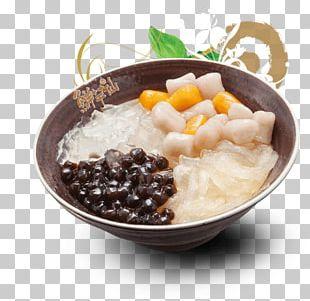 Taro Ball Bubble Tea Asian Cuisine Mung Bean PNG