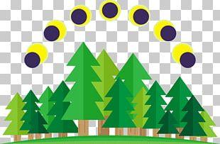 Solar Eclipse Illustration PNG