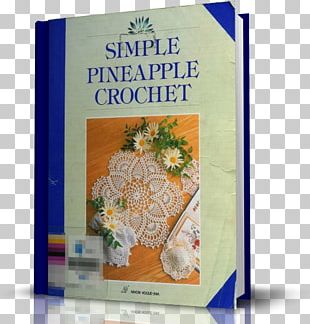 Cloth Napkins Simple Pineapple Crochet Crochet Lace Book PNG