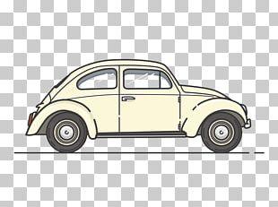 Volkswagen Beetle Cartoon Vehicle Vintage Car PNG