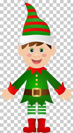Santa Claus Christmas Tree Christmas Elf PNG