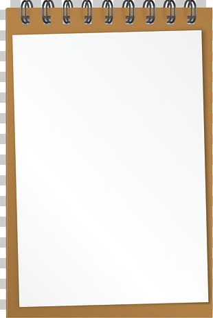 Laptop Paper Notebook PNG