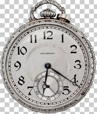Pocket Watch Clock Elgin National Watch Company Boett PNG