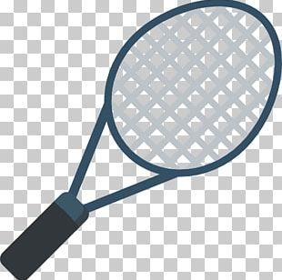 Racket Tennis Badminton Ball Icon PNG