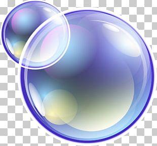 Blue Dream Bubble PNG