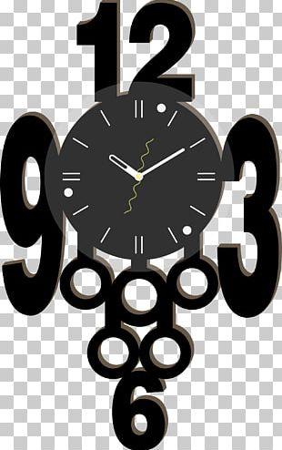 Digital Clock Alarm Clock Wall Decal PNG