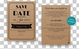Save The Date Kraft Paper Map Creativity Magnetkarte PNG