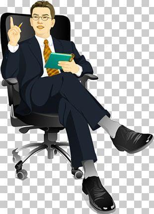 Euclidean Businessperson Illustration PNG