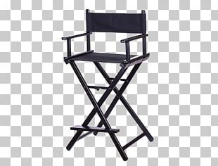 Table Director's Chair Cosmetics Make-up Artist PNG