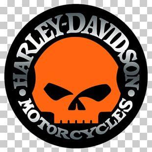 Barnett Harley-Davidson Motorcycle Logo Decal PNG