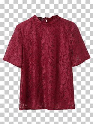 T-shirt Maroon Dress Clothing Patagonia PNG