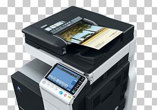 Konica Minolta Photocopier Multi-function Printer Scanner PNG