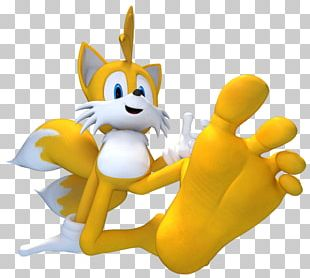 Tails Foot Finger Tickling Sole PNG