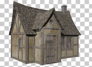 Hut Middle Ages House Roof Facade PNG