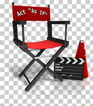Hollywood Director's Chair Film Director PNG