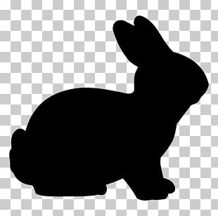Easter Bunny Rabbit Silhouette PNG