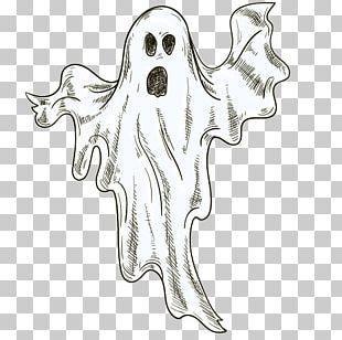 Halloween Cartoon Poster Illustration PNG