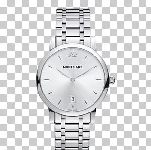 Montblanc Analog Watch Quartz Clock Watch Strap PNG