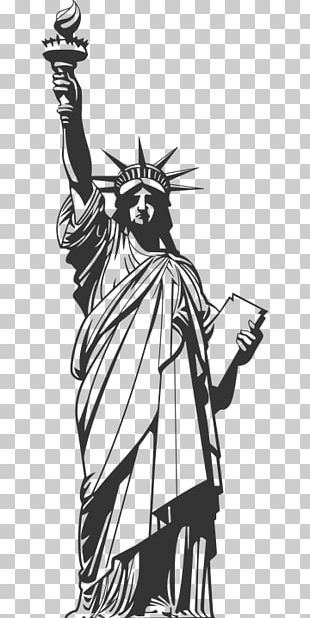 Statue Of Liberty Drawing Ellis Island PNG