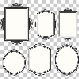 Vintage Frame Design PNG