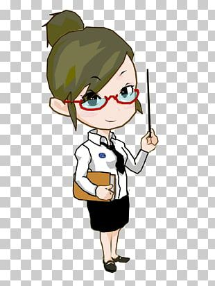 Cartoon Teacher PNG