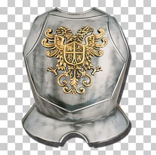 Breastplate Plate Armour Components Of Medieval Armour Body Armor PNG