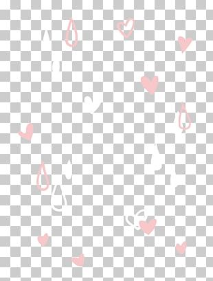 Pink Heart Background Decoration PNG