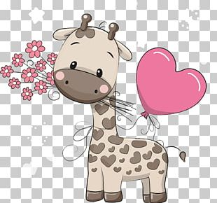 Giraffe Cartoon Cuteness Illustration PNG