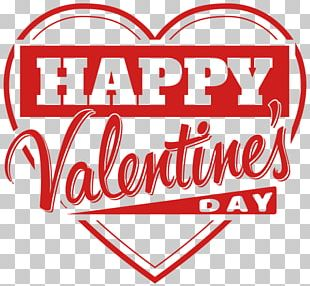 Happy Valentine's Day Heart Love PNG