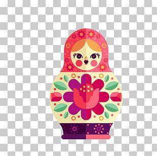 Matryoshka Doll Illustration PNG