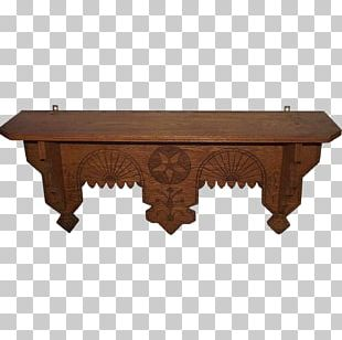 Table Fireplace Mantel Floating Shelf Distressing PNG