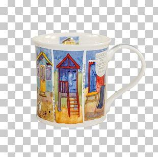 Jug Beach Hut Dunoon Coffee Cup Mug PNG