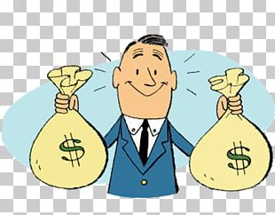 Money Bag Cartoon PNG