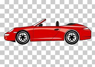 Sports Car Chevrolet Corvette Porsche Ford Mustang PNG