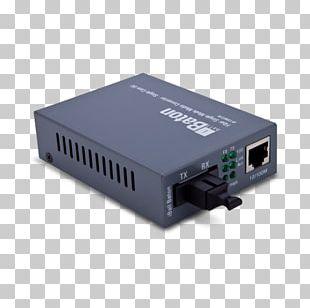 Fiber Media Converter Single-mode Optical Fiber Multi-mode Optical Fiber Ethernet PNG