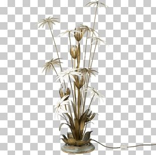 Light Fixture Floral Design Lamp Furniture PNG