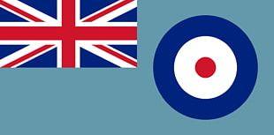 United Kingdom Flag Royal Air Force Ensign PNG
